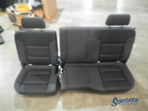 Silvrdo15 2018 Seat Rear Bench Cloth Double Cab 1043339