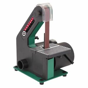 1 X 30 Belt Sander 1x30 Benchtop 1 3 Hp Motor Workshop Adjustable Tilting Table