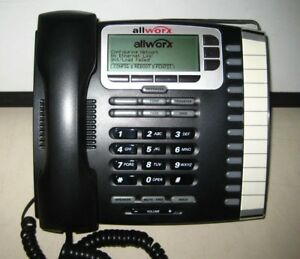 Lot Of 17 Allworx 9212 Voip Poe 12 button Display Office Ip Phones