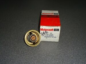 New Nos Oem Ford Engine Coolant Thermostat Motorcraft Rt 1060 E73z 8575 A 1987