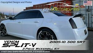 1 Piece 2011 Chrysler 300s Rear Wicker Bill Wickerbill Spoiler W Rivnut Tool