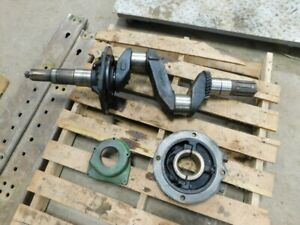 John Deere Unstyled G Tractor Crankshaft With Mains F34r F77r F65r F66r 02314