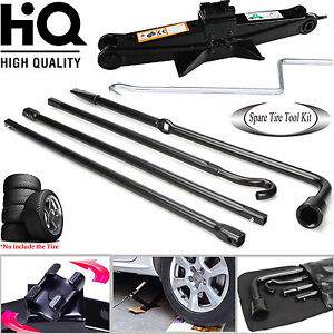Repair Spare Tire Tools Kit Lug Wrench With Scissor Jack For Ford F 150 Pickup