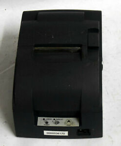 Epson Tm u220 Thermal Rs232 Pos Receipt Printer no Ac Adptr 5