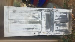 Vintage Antique 1800 S Solid Wood Old Door Architectural Salvage Reclaimed