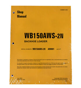 Komatsu Wb150aws 2n Backhoe Workshop Repair Service Manual Part Cebd011300