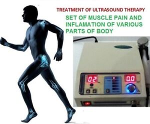 Original Ultrasound Therapy Ultrasonic Therapy Machine Pain Relief 1 Mhz Unit 3