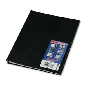 Notepro Notebook 8 1 2 X 11 100 Ruled Sheets White Paper Black Cover X3