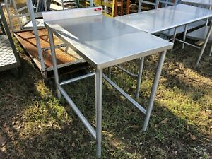 Atlantic Stainless 24 25 X 36 Heavy Duty Stainless Steel Prep Food Work Table