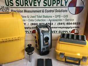 Trimble Rts655 5 Dr Reflectorless Robotic Total Station S6 W 90 day Wnty