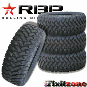 4 Rolling Big Power Rbp Repulsor Mt Lt 35x12 50r20 121q All Terain Mud Tires