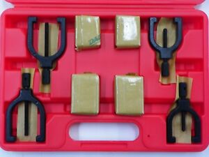 Spi 91 503 3 8 Piece V block Set 2 Sizes With Clamps And Case E996