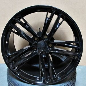 2018 Zl1 Style 20x10 11 5x120 Gloss Black Wheels Fit Chevy Camaro Rs Ss Z28 Ls