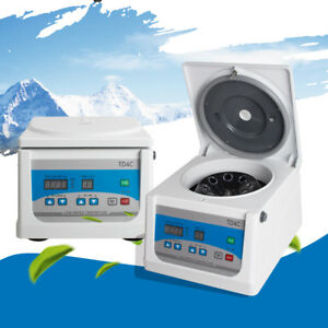 Medical Low Speed Centrifuge Lab Blood Centrifuge 4000r min Reliable Machine Ce