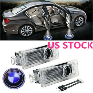 Car Door Led Laser Logo Projector Shadow Lights Ground Lamp For Bmw 3 5 6 7 X Us