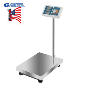 Accurate 660lbs Led Ac dc Digital Postal Platform Scale Shipping Tabletop Scales
