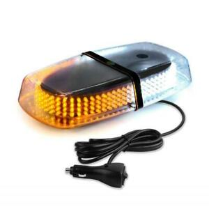 Hotbefote 240 Led Emergency Warning Roof Top Strobe Snow Plow Light Amber White