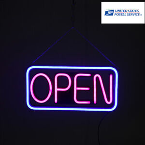 Hang Waterproof Open Led Shop business Spectacular Sign Outdoor Led Sign Square