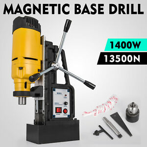 1200w Mb 23 Magnetic Base Drill Press 23mm Boring 13500n Magnet Force Tapping
