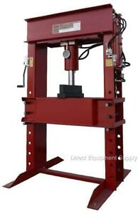 150 Ton Air hydraulic H frame Shop Press Usa 100 50