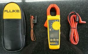 Fluke 325 True Rms Clamp Meter With Case And Leads Excellent