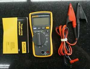 Fluke 116 Trms Multimeter True Rms With Leads And Manual Excellent Condition