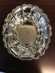 Sterling Silver Candy Dish 6 X5 X1 25 104 7g