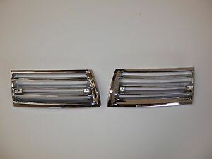 Porsche Horn Grills 911 912 Grill 1966 1967 1968 Pair Left And Right Swb Steel