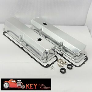Big Block Ford Fe Fabricated Welded Aluminum Valve Covers 390 400 428