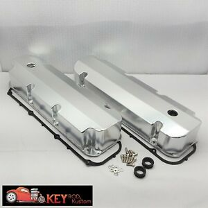 Big Block Ford Fabricated Satin Aluminum Valve Covers 429 460 Gaskets