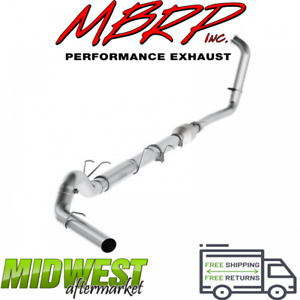 Mbrp 5 Turbo Back Exhaust Stock Cat For 03 07 Ford F 250 F 350 6 0l Powerstroke