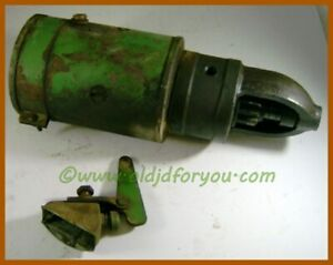 1107127 1882323 John Deere 40 420 Starter With Switch And Lever Working Unit