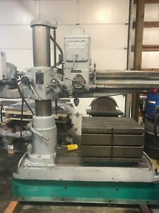 Cincinnati Brickford 4 Chipmaster Radial Arm Drill
