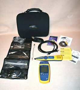 Fluke Networks Microscanner2 And Intellitone 200 Pro Kit