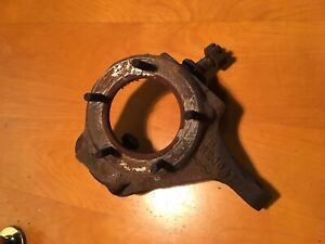 1978 Ford Truck F250 Dana 44 5 Hole Spindle Steering Knuckle Flat Top Passenger