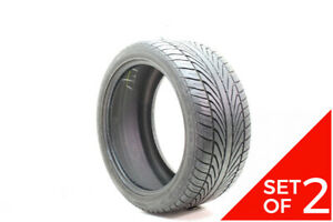 Set Of 2 Used 285 35zr19 Goodyear Eagle F1 Gs 2 Emt 90y 6 32