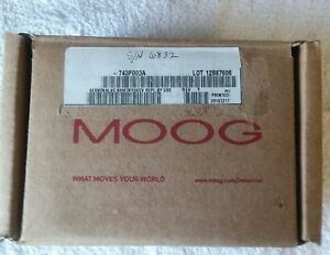 Moog Servo Valve 743f 003a brand New Unused in Factory Packaging