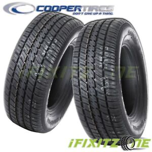 2 Cooper Cobra Radial Gt P275 60r15 107t Rwl All Season Performance Tires