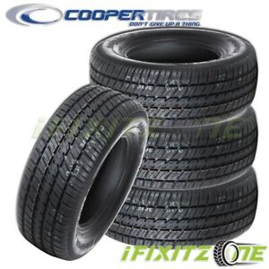 4 Cooper Cobra Radial Gt P275 60r15 107t Rwl All Season Performance Tires