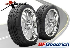 Qty Of 2 Bf Goodrich G Force Sport Comp 2 245 40zr18 93w Performance Tires