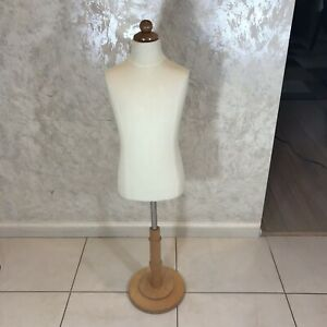 12 Year Old Child Size Body Form Stand Display Mannequin Pinnable Height Adjust