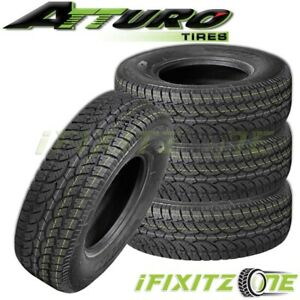 4 Atturo Trail Blade At Lt265 70r17 121 118s 10ply All Terrain Performance Tires