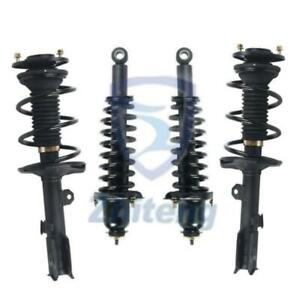 Fit For 2003 2008 Toyota Corolla Front Rear Complete Quick Strut Springs Kit