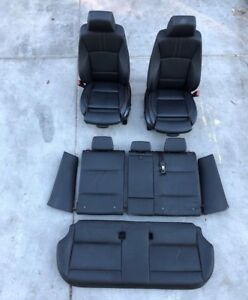 2011 2014 Bmw X3 F25 Sport Left Right Front Rear Heated Seat Seats Set Oem 11 14