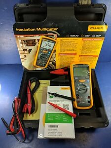 New Fluke 1577 Insulation Multimeter Hard Case Original Packaging Accessories