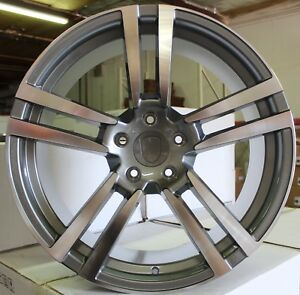 22 Inch Rims Fit Porsche Cayenne Base Turbo S Gts Turbo 2 Wheels