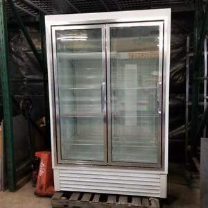 Hussmann Hgl 2 bs Low Temp Glass Door Freezer