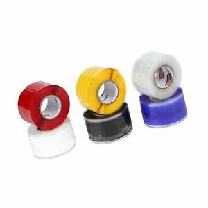 Tommy Tape Miracle Wrap Self fusing Silicone Repair Tape pack Of 6