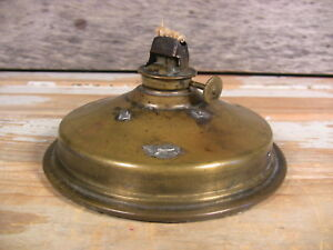 Antique Brass Oil Lamp Font Burner Ship Maritime Light National Marine Lamp Ww1