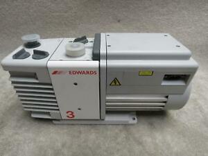 Edwards 3 Rv3 A652 01 906 Vacuum Pump 115 Vac New Old Stock